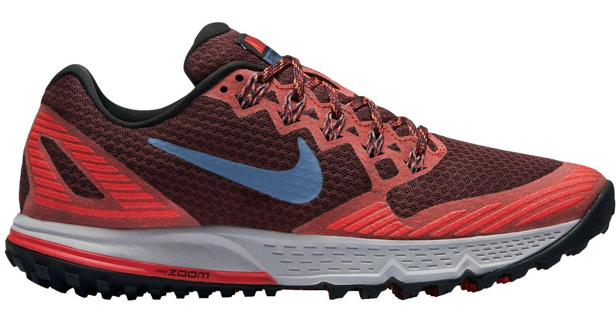Nike Zoom Trail Shoes In Running Lyst 3 For Men Wildhorse Red QdstrCxBh