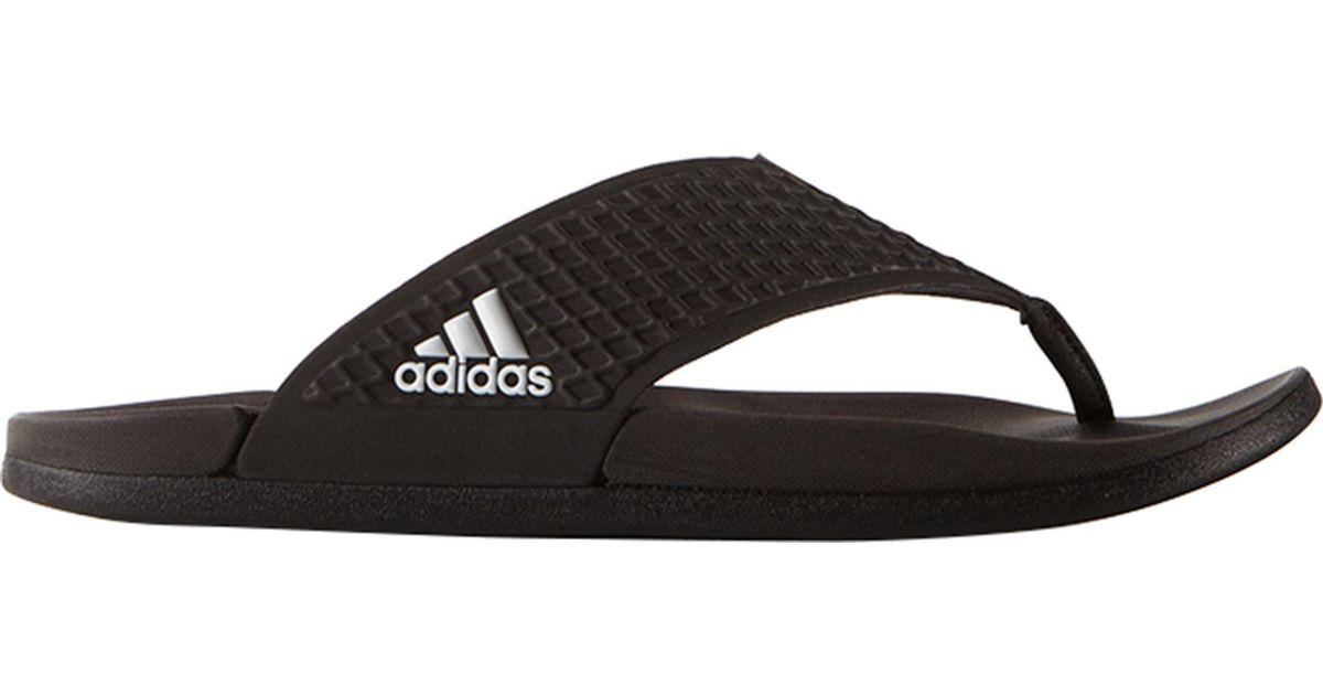 40d2d107f356c3 Lyst - adidas Adilette Sc Plus Thong Flip Flops in Black for Men