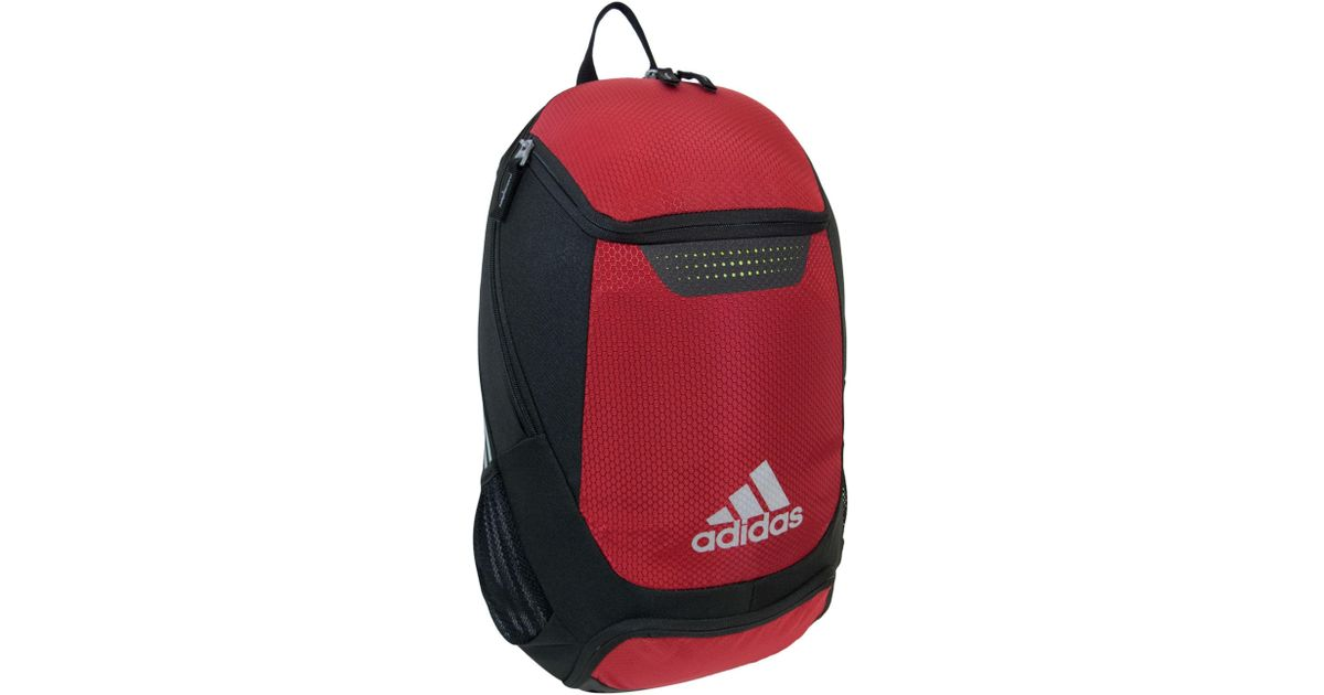 Lyst - Adidas Stadium Team Backpack in Red for Men 2a49ca4e01e1b