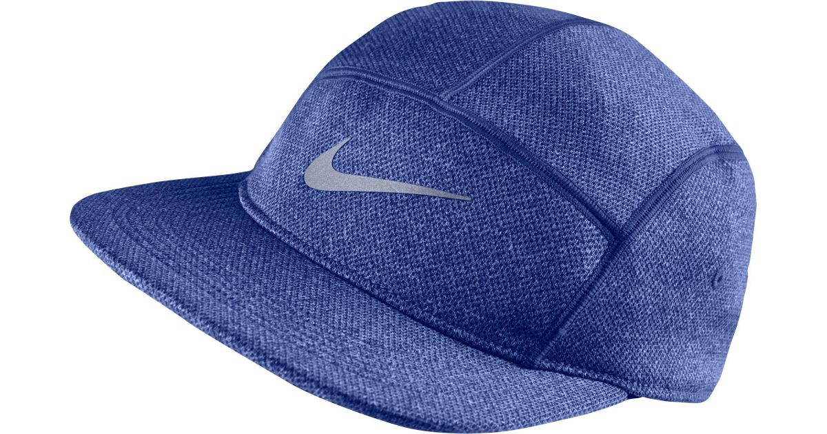 Lyst Nike Dri Fit Knit Aw84 Running Hat In Blue For Men e58aefa7ead0