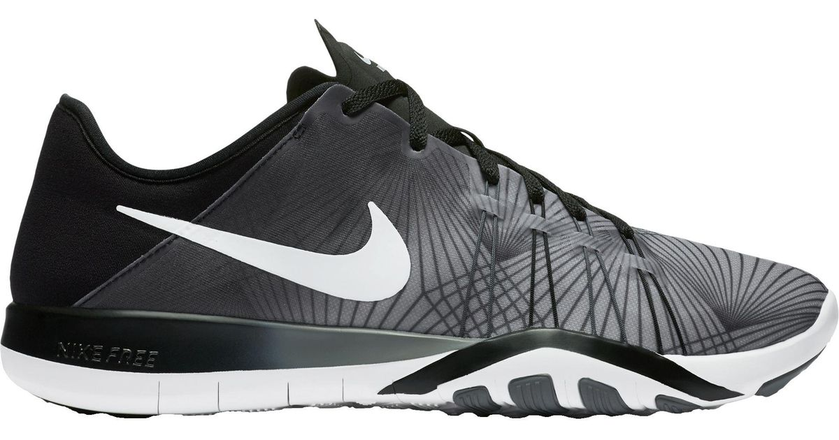 the best attitude 19f46 11ad3 Lyst - Nike Free Tr 6 Prt Training Shoes in Black for Men