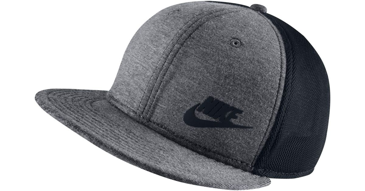 Lyst - Nike True Tech Pack Adjustable Snapback Hat for Men c157b32dadc
