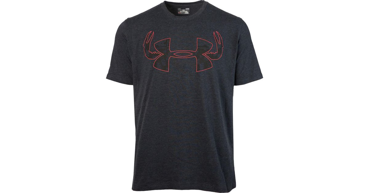 59f7a6f5 Under Armour Altiflage Crab Graphic T-shirt in Black for Men - Lyst