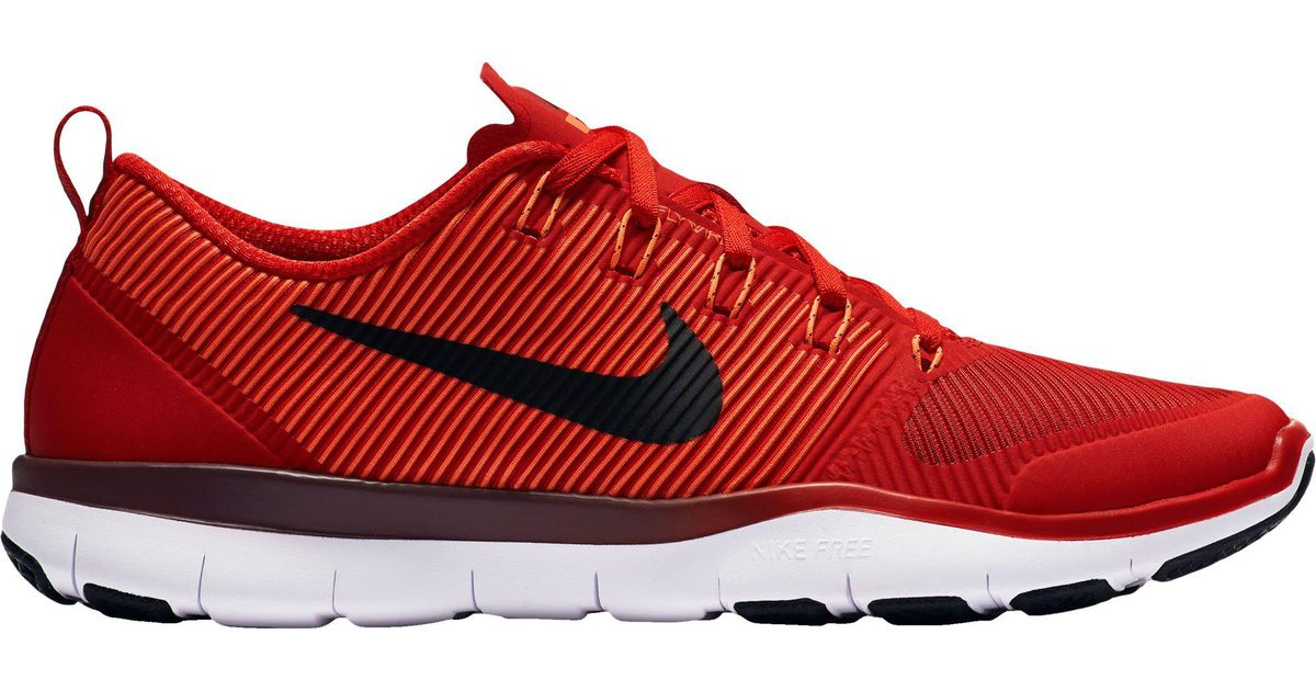 a9eaccb07b6b ... usa lyst nike free train versatility training shoes in red for men  8a063 1c334