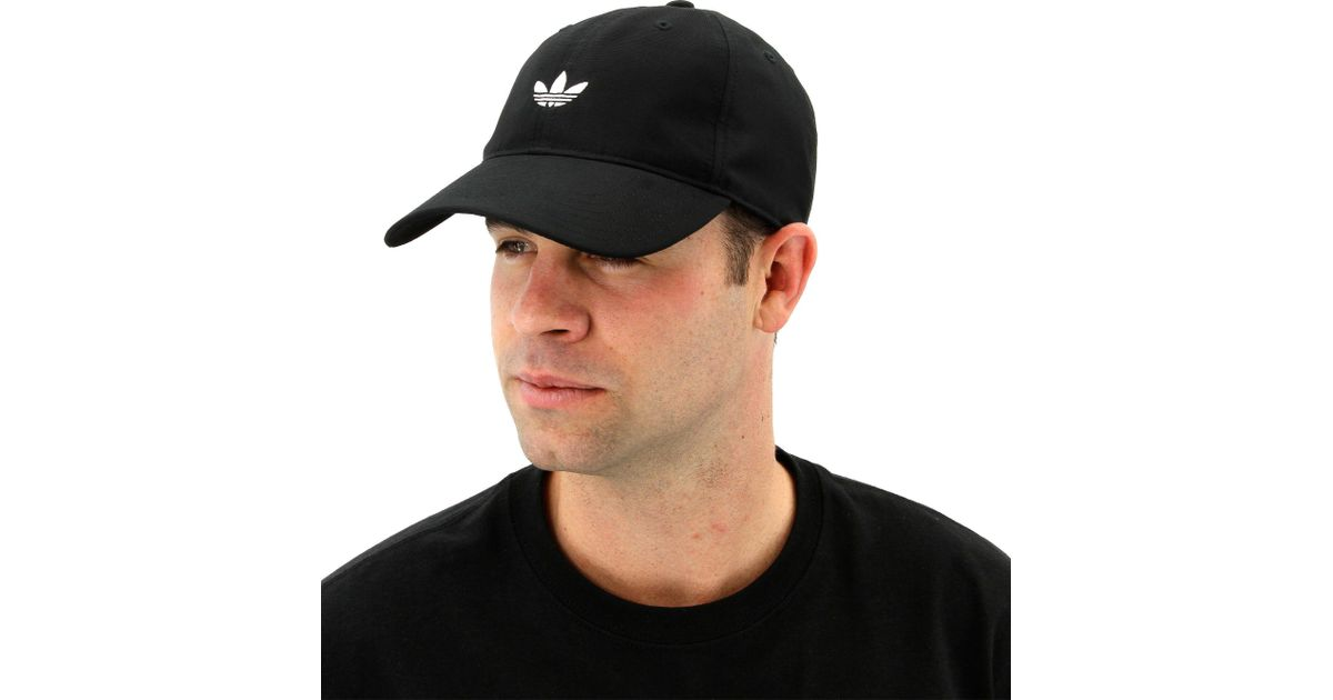 c8d7dae0c0 adidas Originals Relaxed Modern Cap in Black for Men - Lyst