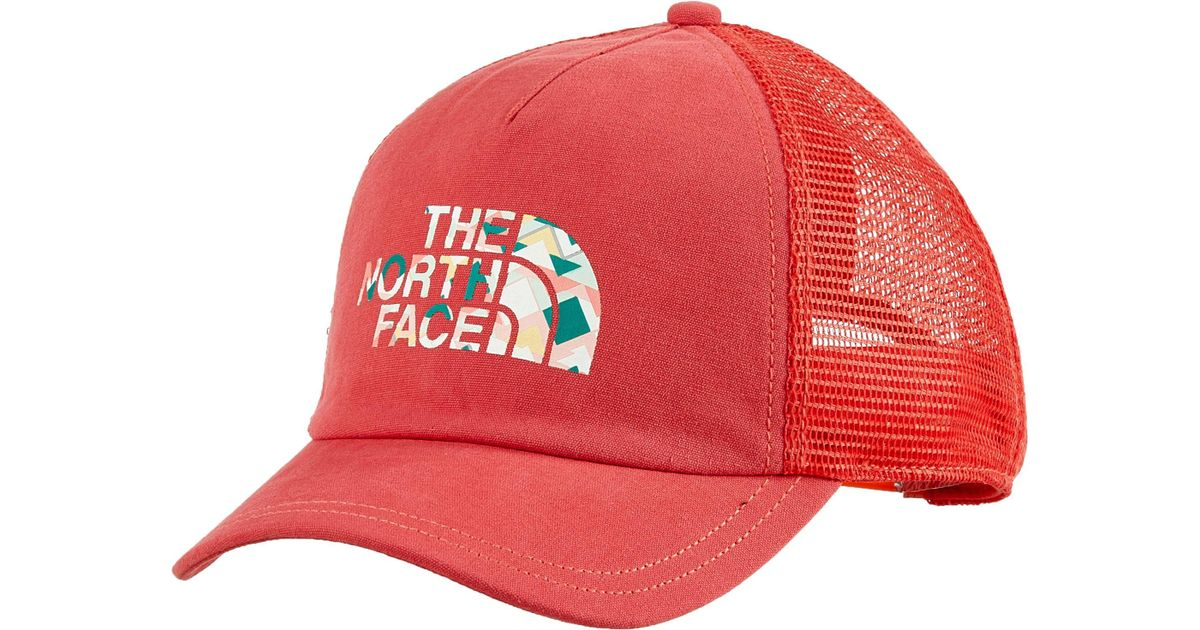 21421f1bfc5 Lyst - The North Face Low Pro Trucker Hat - Past Season in Red for Men