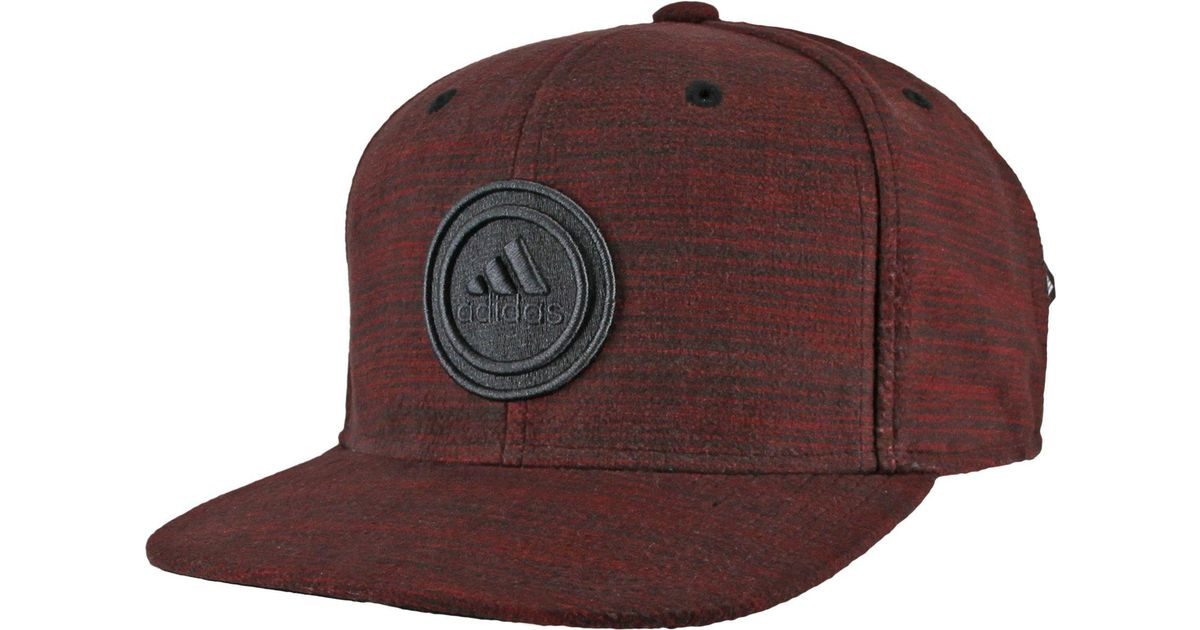 detailed look 71201 64af9 Lyst - Adidas Courtside Snapback Cap in Red for Men