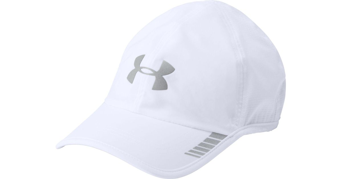 97162b8abde Lyst - Under Armour Launch Armourvent Running Hat in White for Men
