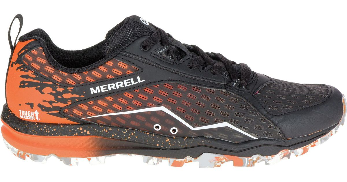 Merrell Men's All Out Crush Tough Mudder Low Rise Hiking Boots