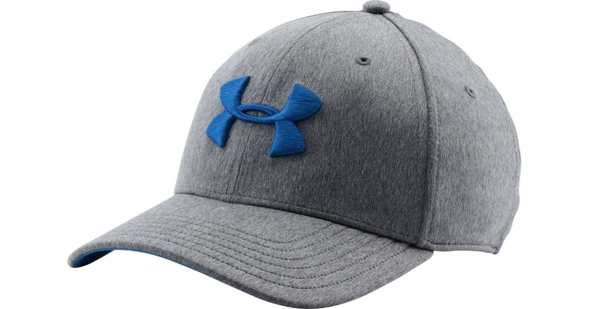 release date: 6d539 b3e6f Under Armour Twist Print Tech Closer Hat in Blue for Men - Lyst