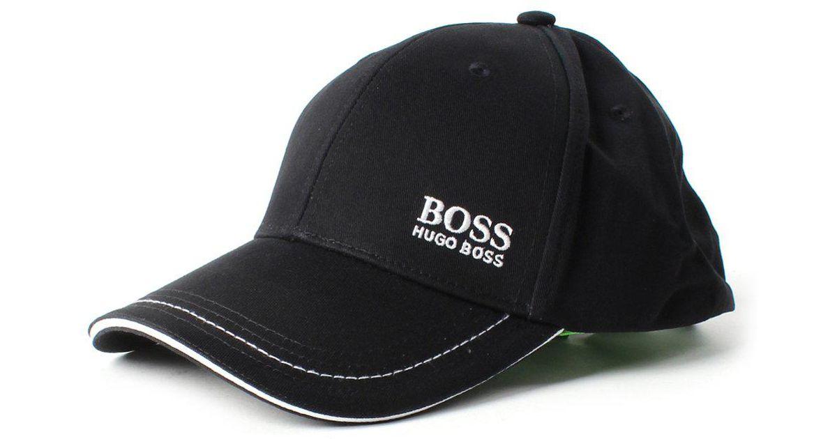 Boss Athleisure Cap 1 Men s Logo Cap Black in Black for Men - Lyst b68408eb2c0b