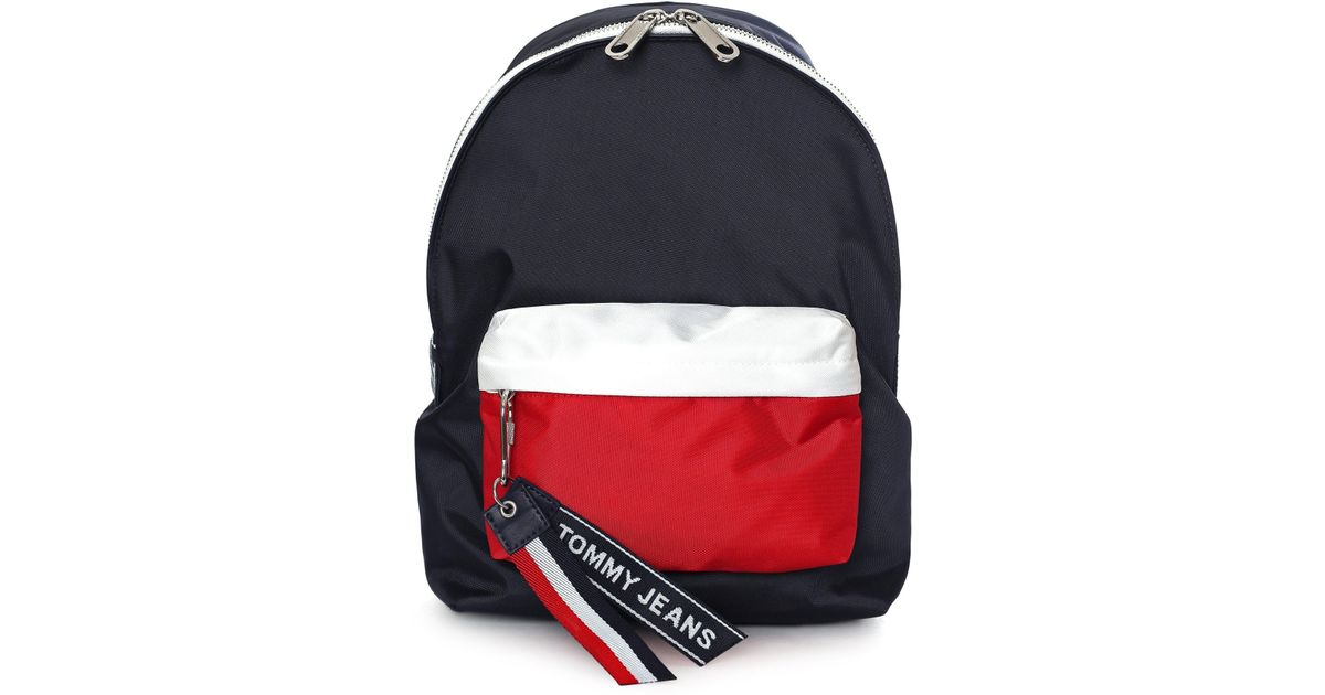 1a3726cc1e Tommy Hilfiger Women's Tommy Jeans Logo Mini Backpack Corporate Cb - Lyst