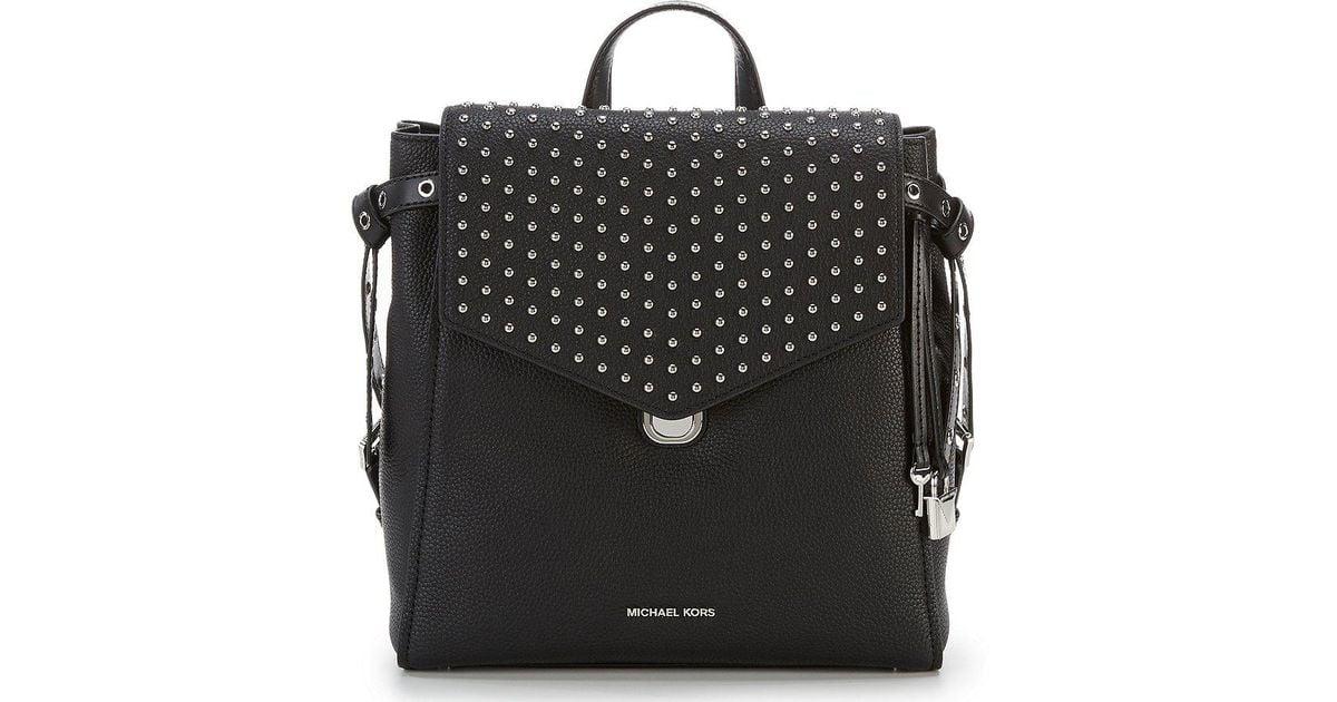 71068acba71cf Lyst - MICHAEL Michael Kors Bristol Medium Backpack in Black