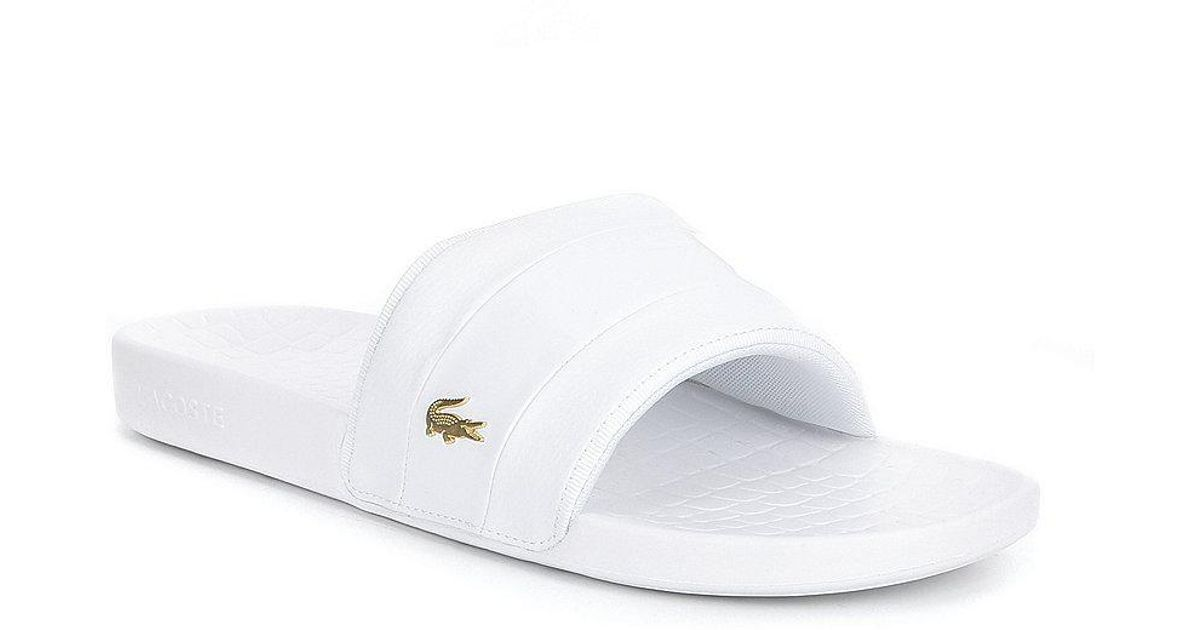 498bc460d9021 Lyst - Lacoste Men s Fraisier 118 Sandals in White for Men