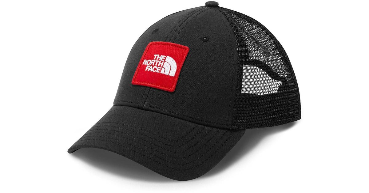 Lyst - The North Face Patches Trucker Hat in Black for Men c43bdfd7dd50