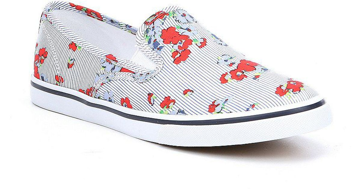 Lauren Ralph Lauren Janis Floral Printed Slip-On Sneakers sO5pY7o