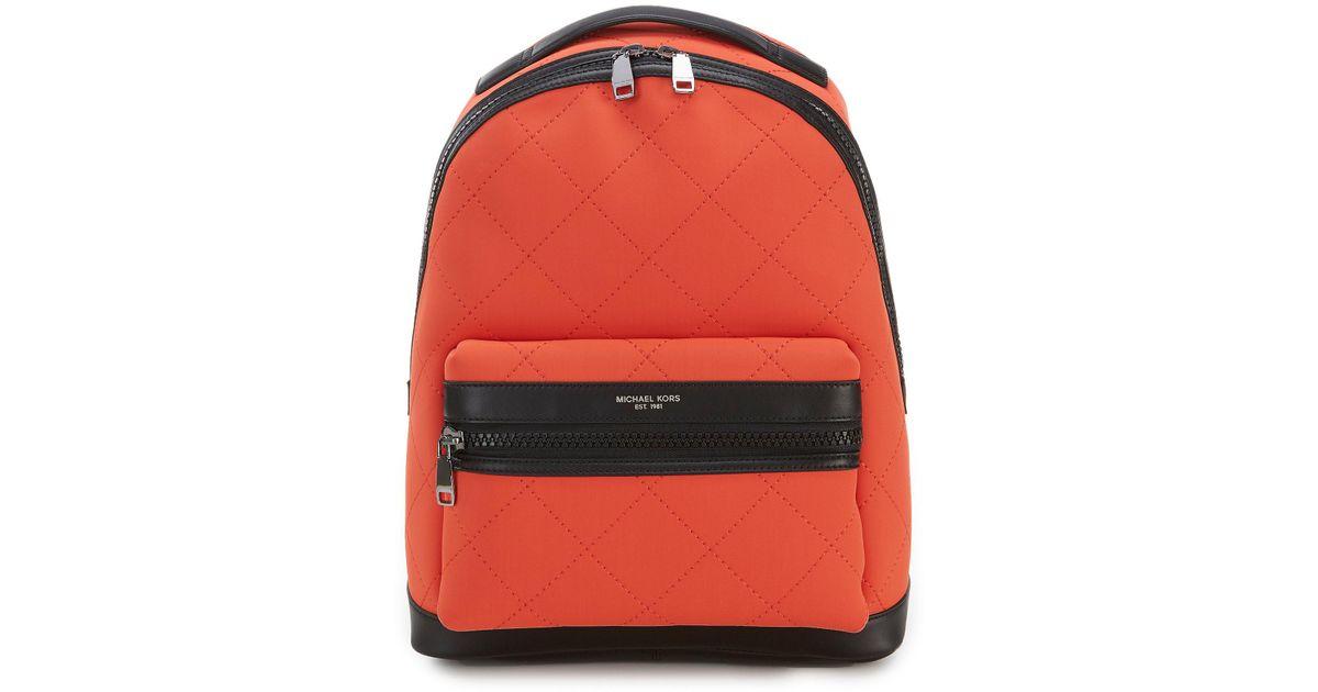 096d3e1195ae03 Michael Kors Odin Neoprene Backpack for Men - Lyst