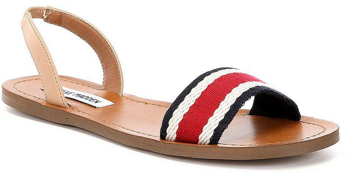 Abella Striped Slingback Sandal 7fJfksJSiV