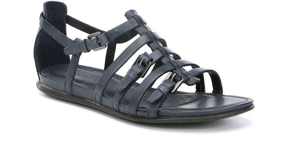 0e9f56434457 Lyst - Ecco Touch Gladiator Sandals