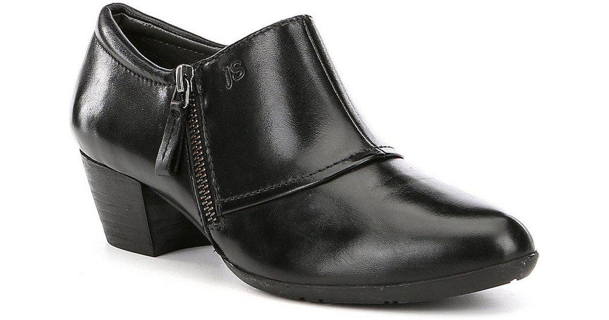 Josef Seibel Sue 03 Side Zip Block Heel Shooties MiAZU