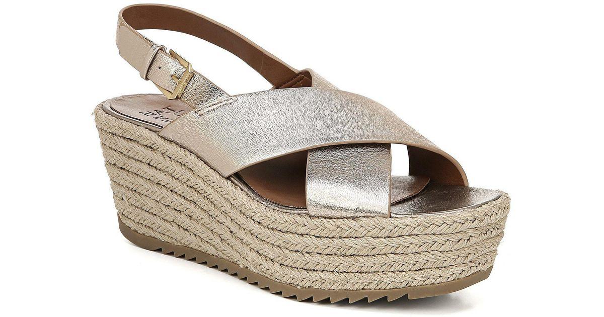 6ffc1004418 Lyst - Naturalizer Oak Slingback Espadrille Sandals