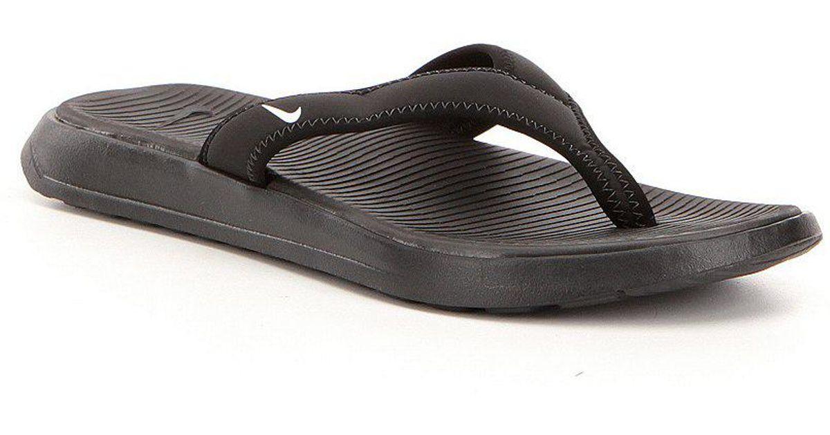 cf30ffc9c05d Lyst - Nike Men ́s Ultra Celso Lightweight Elastic Slip On Thong Sandals in  Black for Men