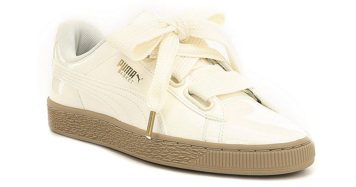 Basket Heart Patent Sneakers hq5UbPXh