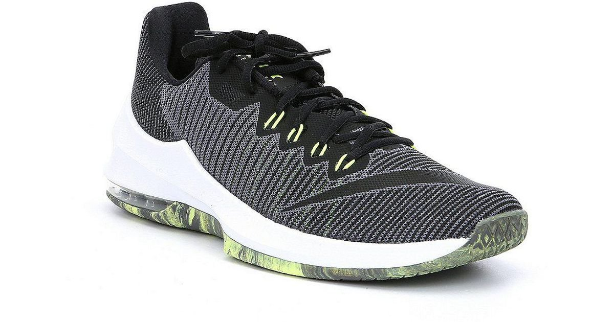 f521b652e60c Nike Men s Air Max Infuriate 2 Low Basketball Shoes in Gray for Men - Lyst