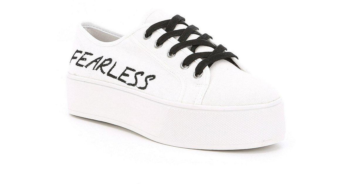 ecdbfe8967d Lyst - Steve Madden Fink Sneakers