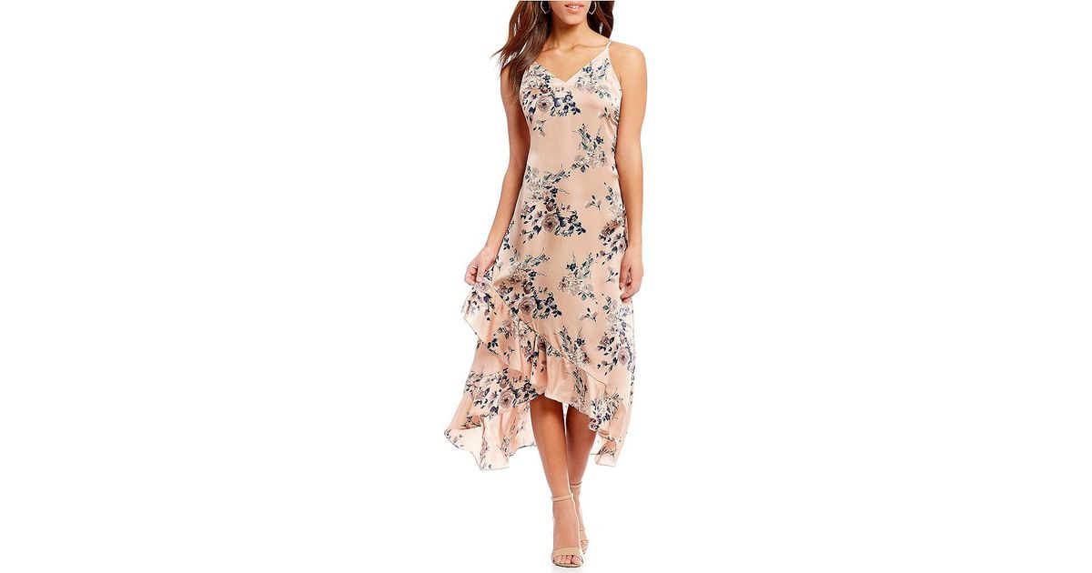 ed3aade31e Sugarlips Chambers Bay Floral Maxi Dress in Pink - Lyst