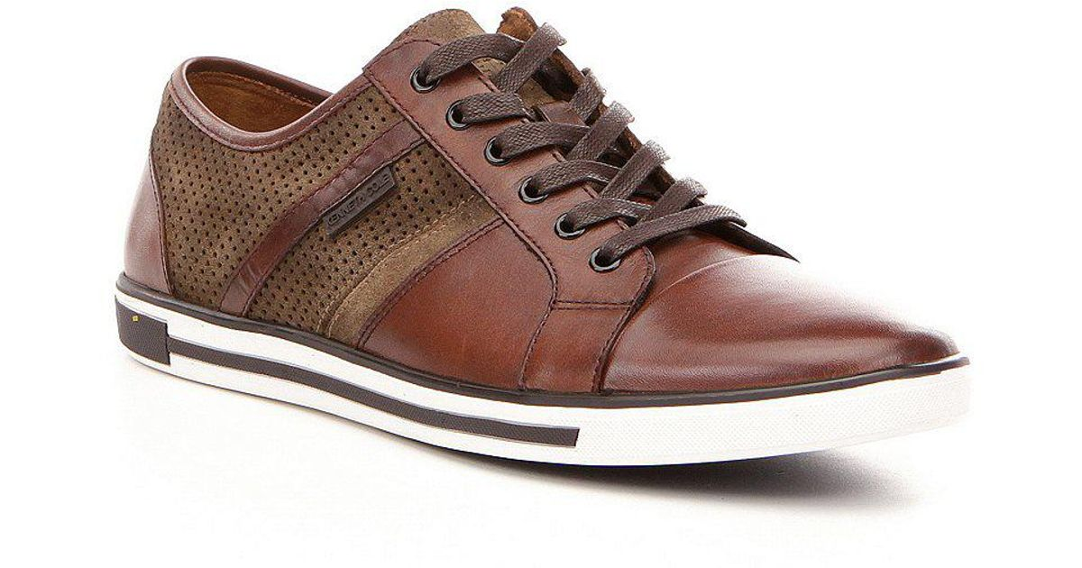 Mens Initial Step Low-Top Sneakers Kenneth Cole b8Y2tQ62Le