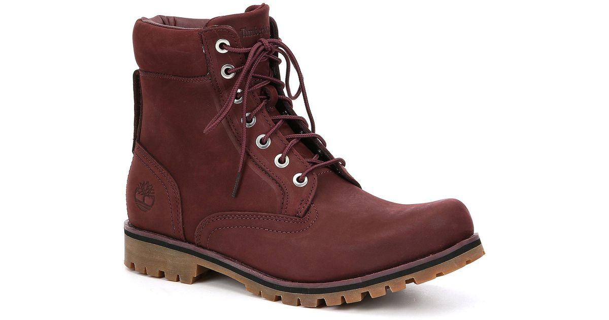 Timberland Red Men's 6
