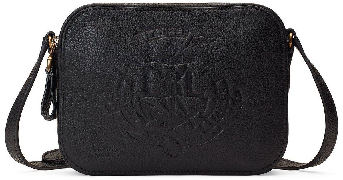 Lyst - Lauren by Ralph Lauren Huntley Medium Camera Bag in Black - Save 42% d685c3e4ec
