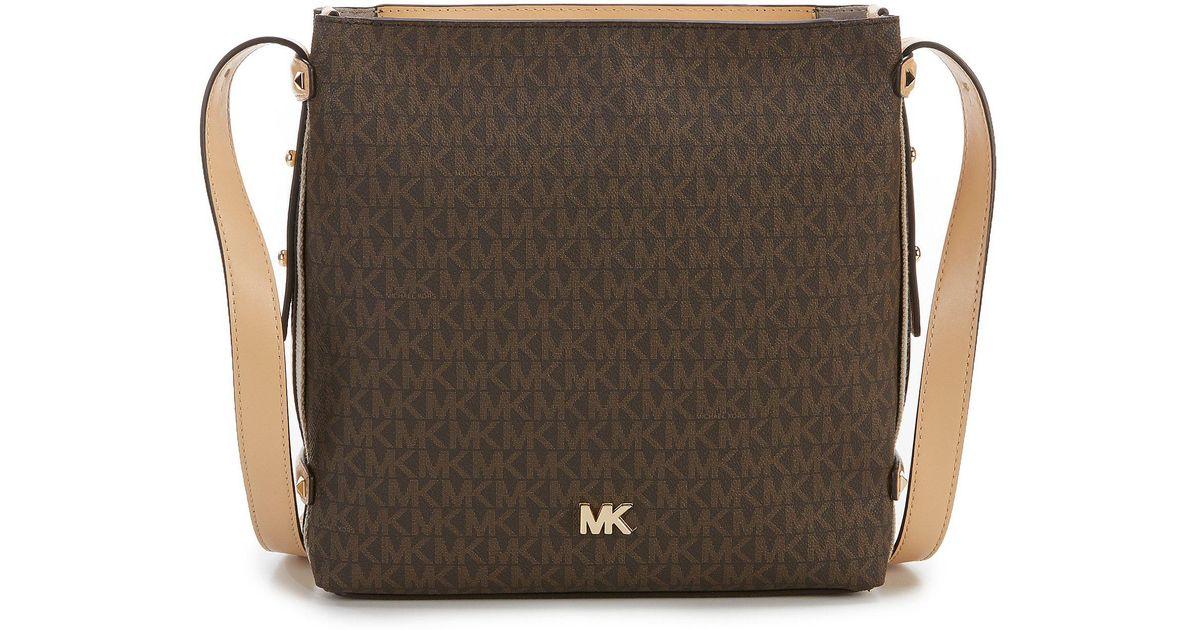 07cac800339e MICHAEL Michael Kors Griffin Signature Cross-body Bag - Lyst