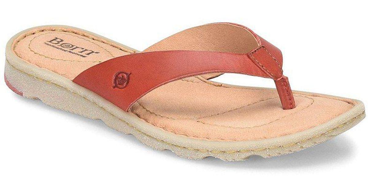 Born Tobago Thong Slide Sandals u3XBDX