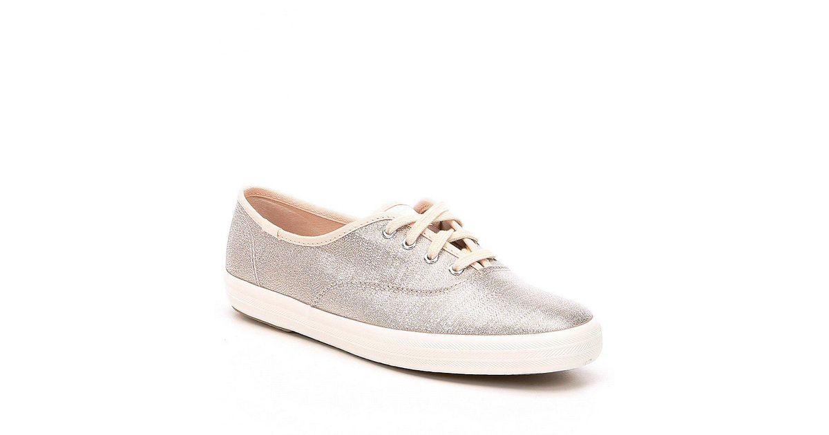 0f20b3a89cb Lyst - Keds Champion Lurex Sneakers