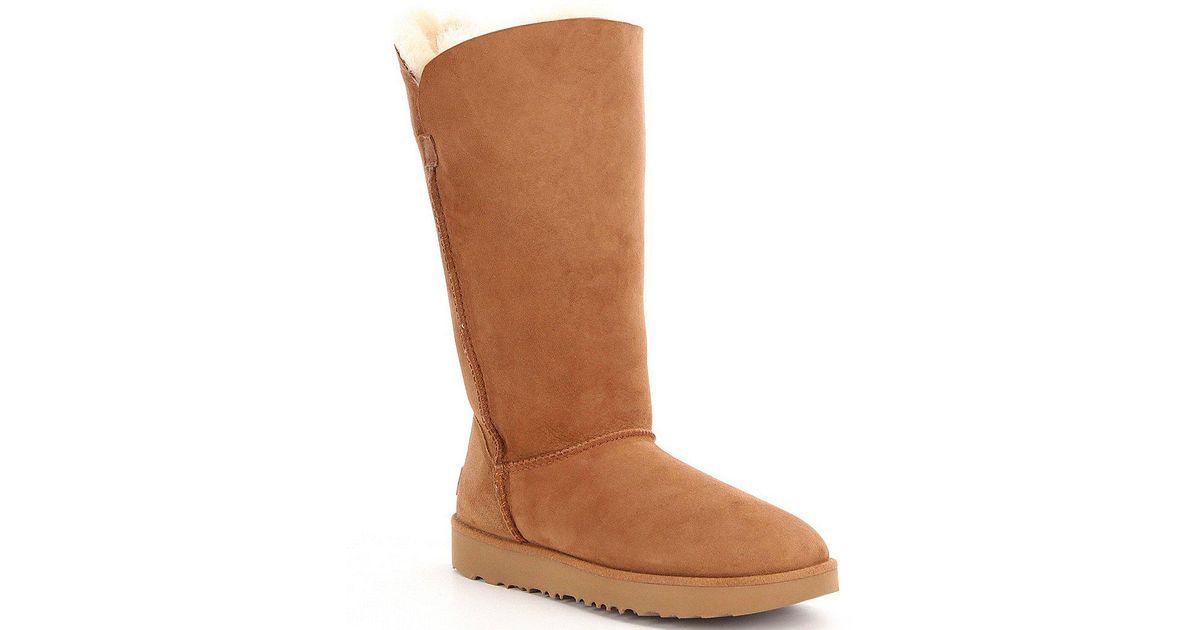 29866e2f77d Ugg - Black ® Classic Cuff Tall Boots - Lyst