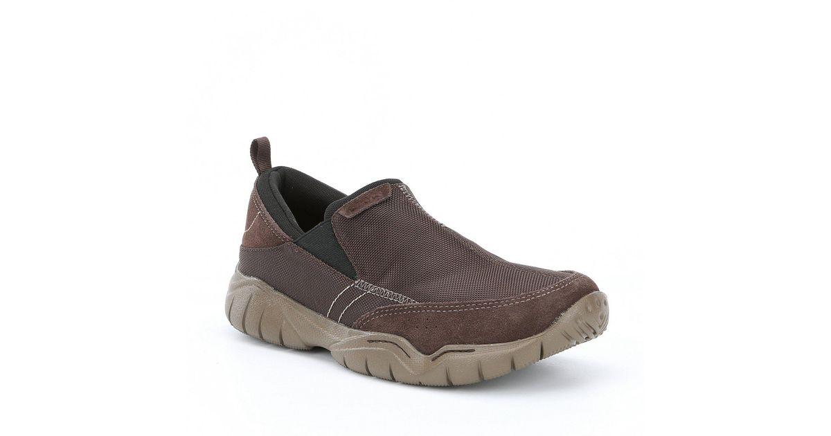 5a89dafceec9 Lyst - Crocs™ Men s Swiftwater Edge Moc Slip-ons in Brown for Men