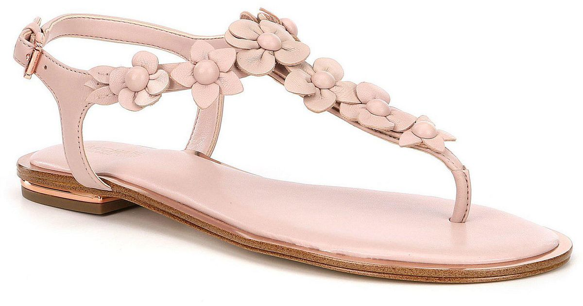 c69492d5b Lyst - MICHAEL Michael Kors Tricia Sandal (women) in Pink