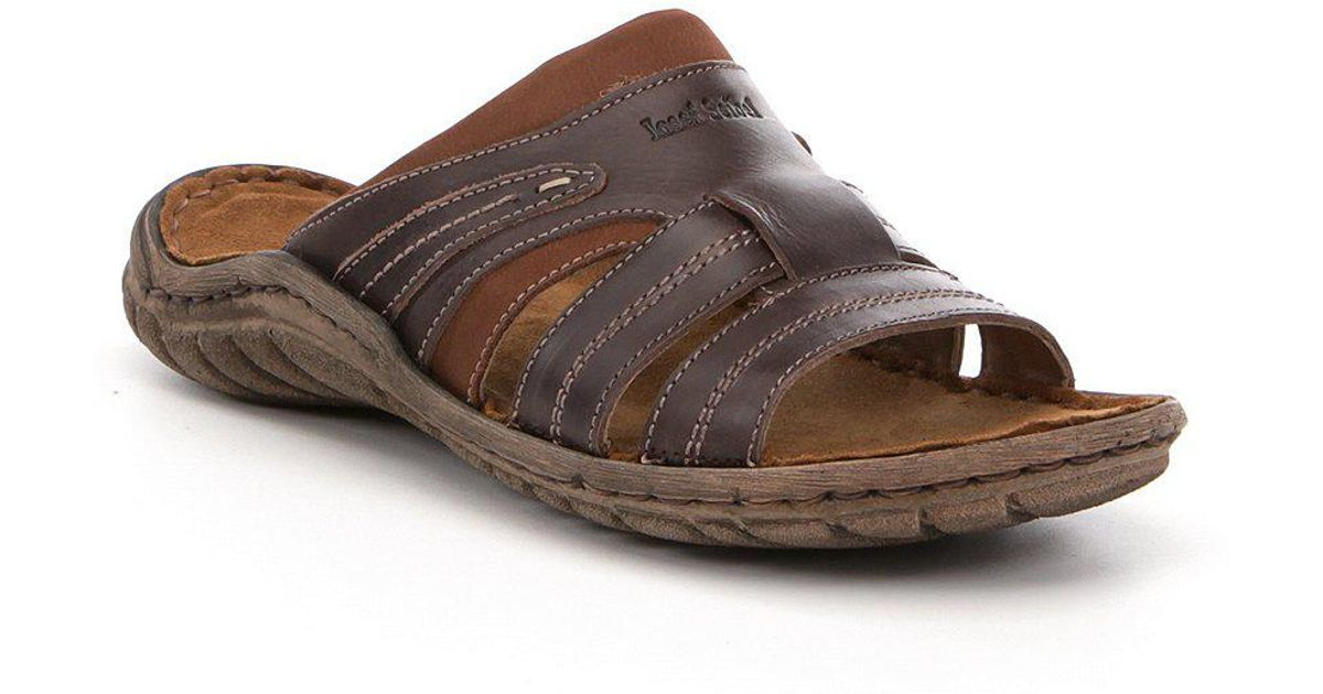 5fc574c0c Lyst - Josef Seibel Men ́s Nico 01 Slide Sandals in Brown for Men