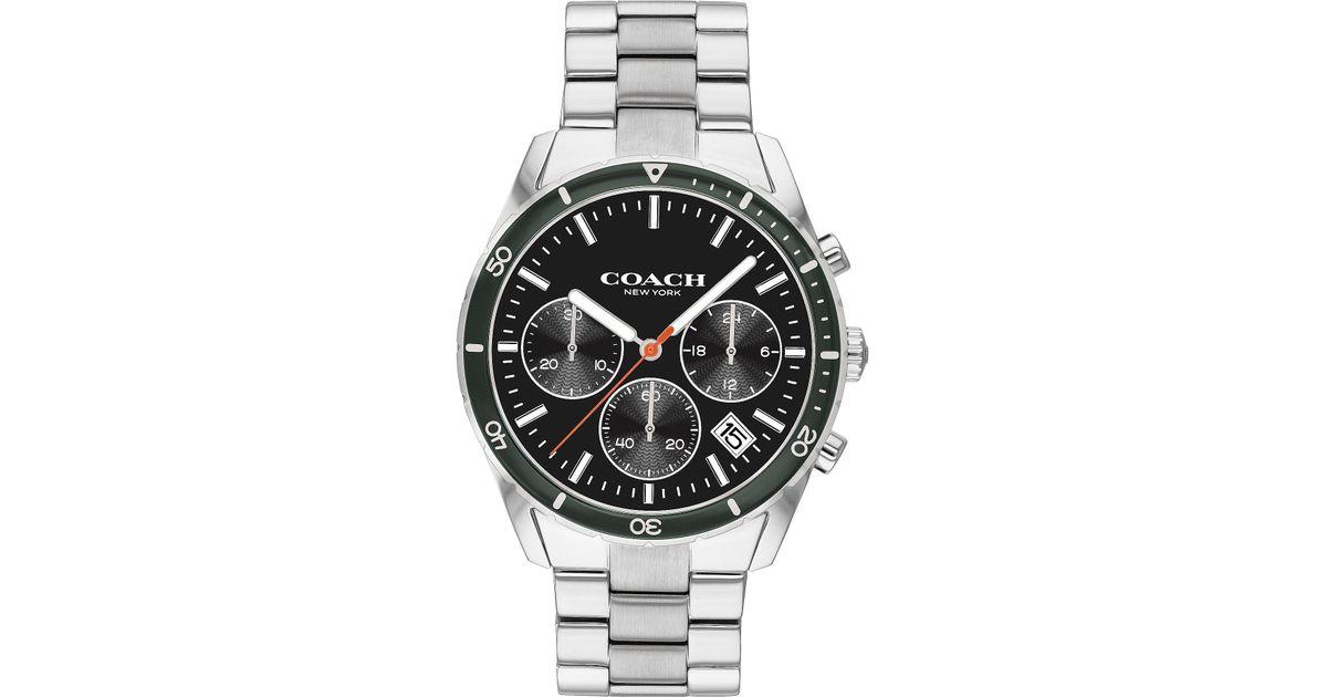 e746688d1 Lyst - COACH Thompson Sport Bracelet Watch in Metallic for Men
