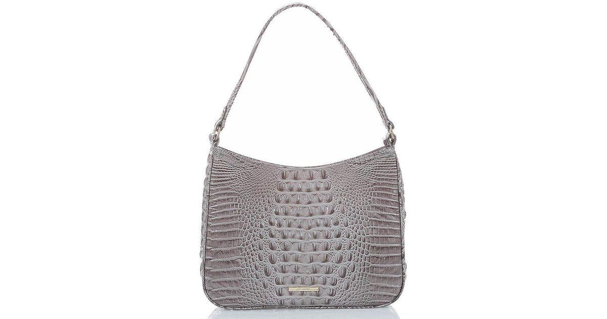 4621cd86f8 Lyst - Brahmin Melbourne Collection Noelle Hobo Bag in Green