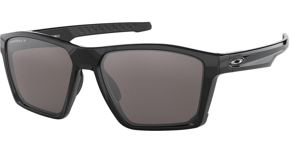 2ecf06b702bcd Lyst - Oakley Mens Target Line Polarized Sunglasses in Black for Men