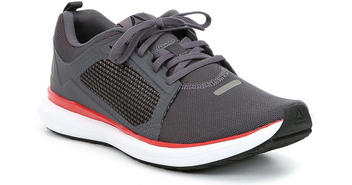 4c3e6632e0faee Lyst - Reebok Men s Driftium Ride Running Shoes in Gray for Men