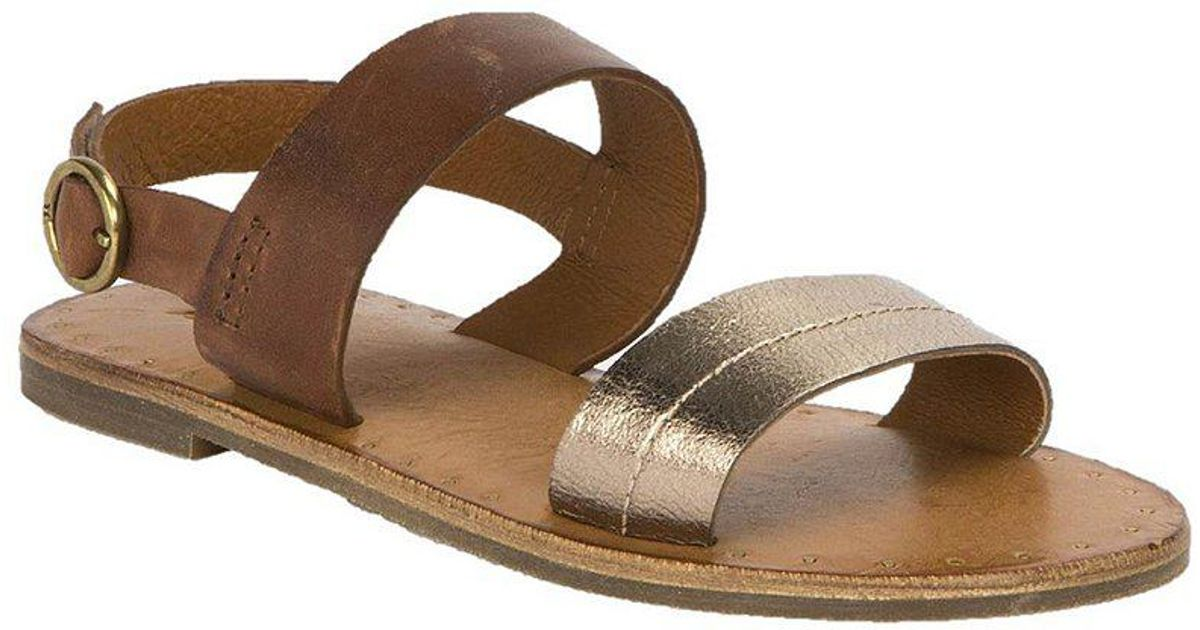 Frye Ally Two Band Slingback Colorblock Sandals PNO98