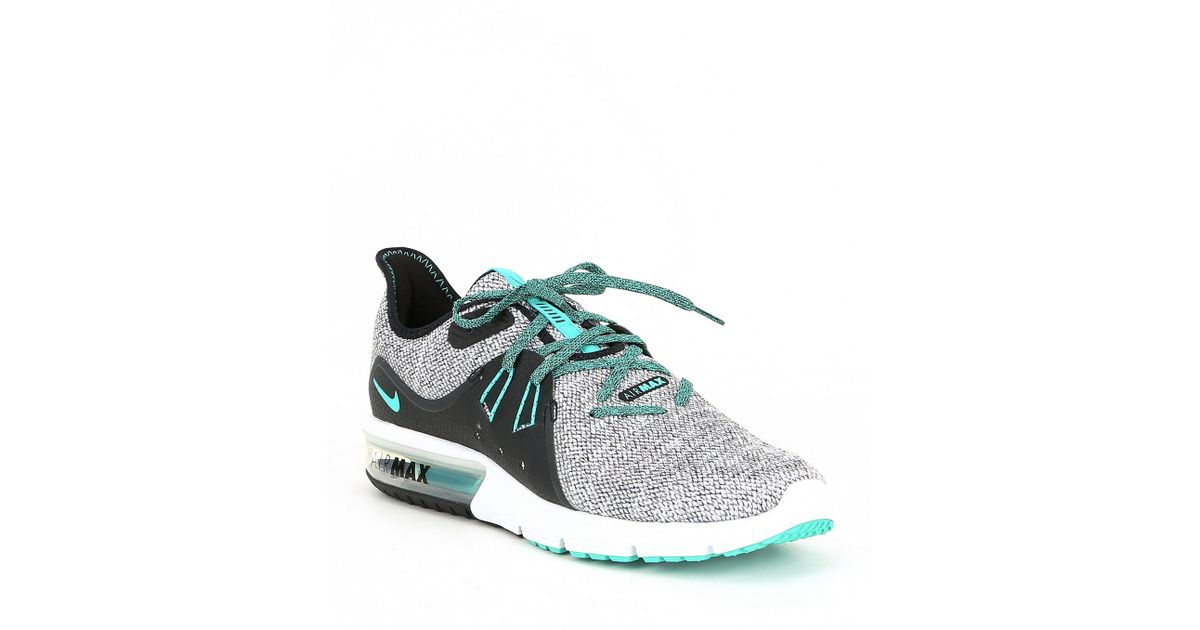 9fa2ebb2426f Lyst - Nike Men s Air Max Sequent 3 Running Shoe in White for Men