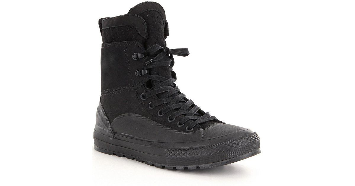 61114ed2de69 Lyst - Converse Men ́s Chuck Taylor® All Star® Tekoa Waterproof High Top  Sneaker Boots in Black for Men