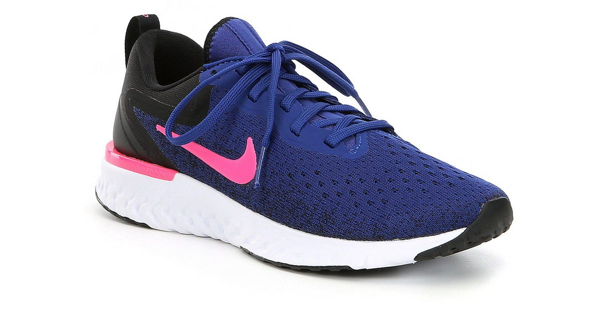 huge selection of 82bc1 3fe5f Lyst - Nike Women s Odyssey React Running Shoe in Blue