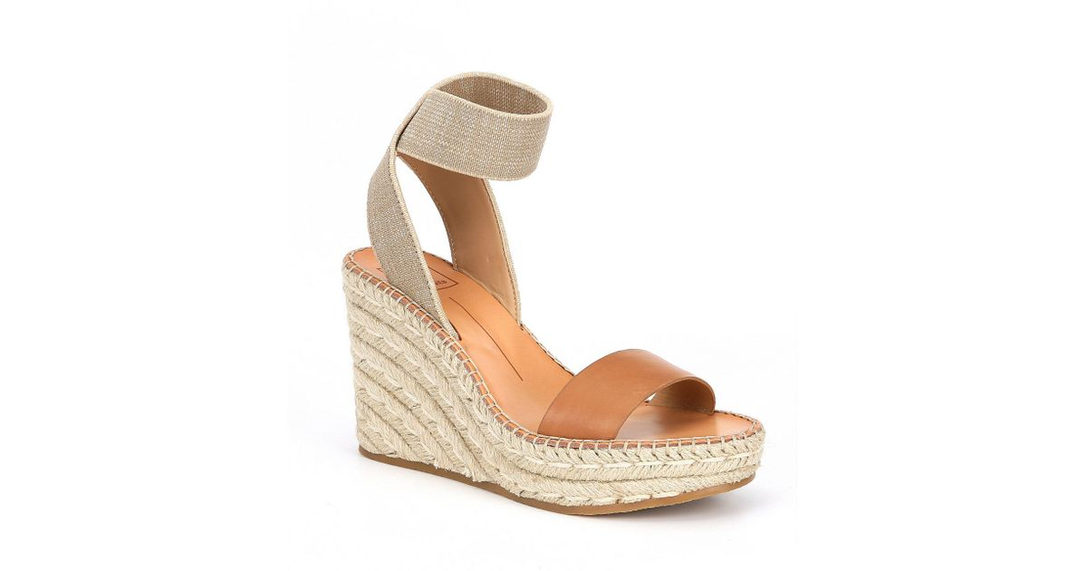 b33f783d6a8 Dolce Vita - Multicolor Pavlin Leather Espadrille Wedge Sandals - Lyst