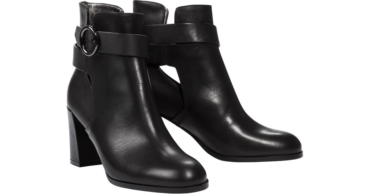 out in Dorothee Cool 7cm Cut Schumacher Effortless Black Lyst Boot Ankle q4wR1PXx